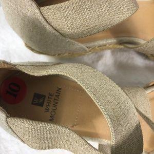 White Mountain Shoes - White Mountain 10 Espadrilles Wedge Heel